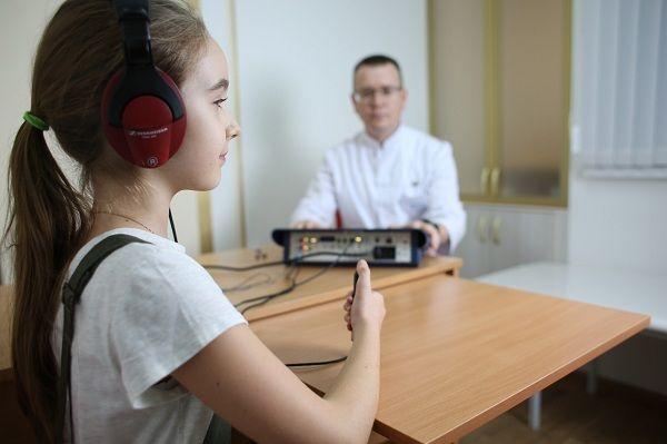 Тональную аудиометрию можно проводить после достижения ребенком 3 лет