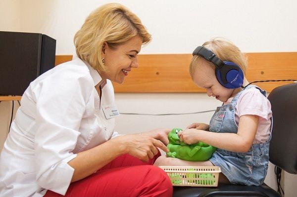 Игровую аудиометрию можно проводить маленьким пациентам старше 3 лет