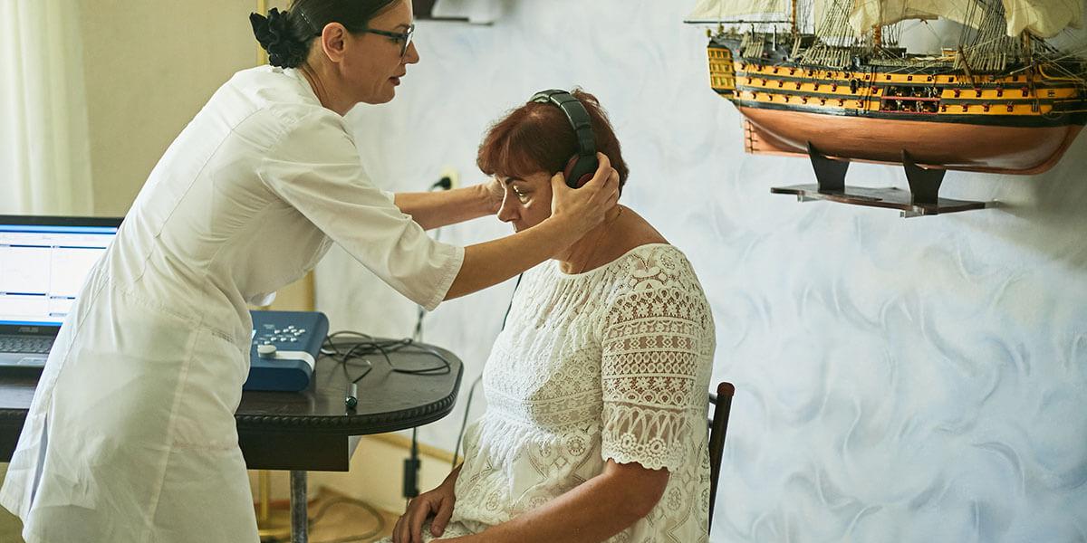 Диагностика слуха и подбор слухового аппарата на дому